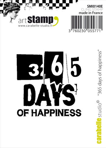 Carabelle pieni leimasin - 365 days of happiness