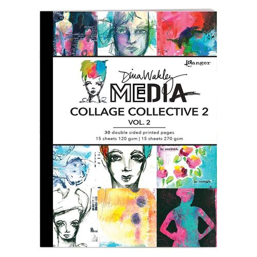 Dina Wakley Media Collage Collective vol.2